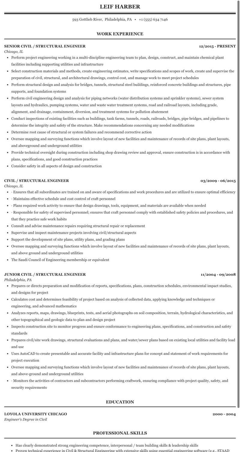 Resume document civil structural engineering oil and gas management essay ideas