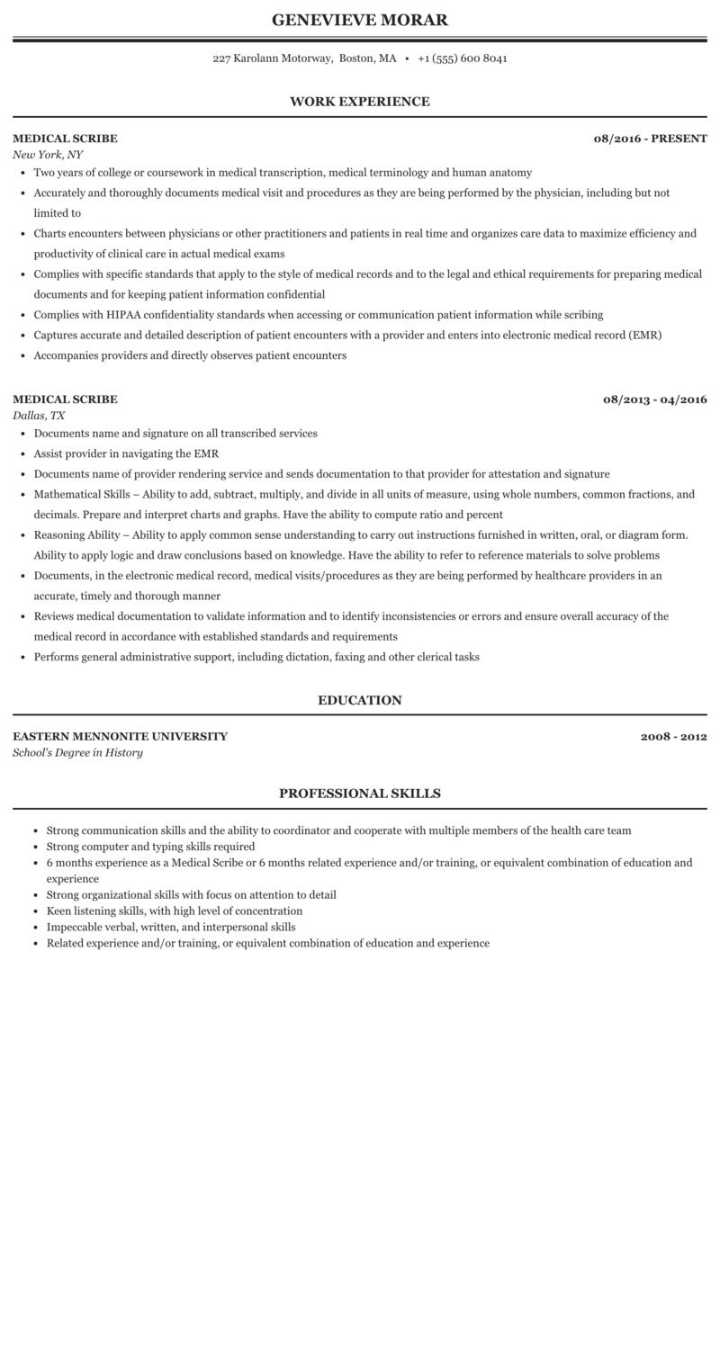 Resume Format For Doctors from assets.mintresume.com