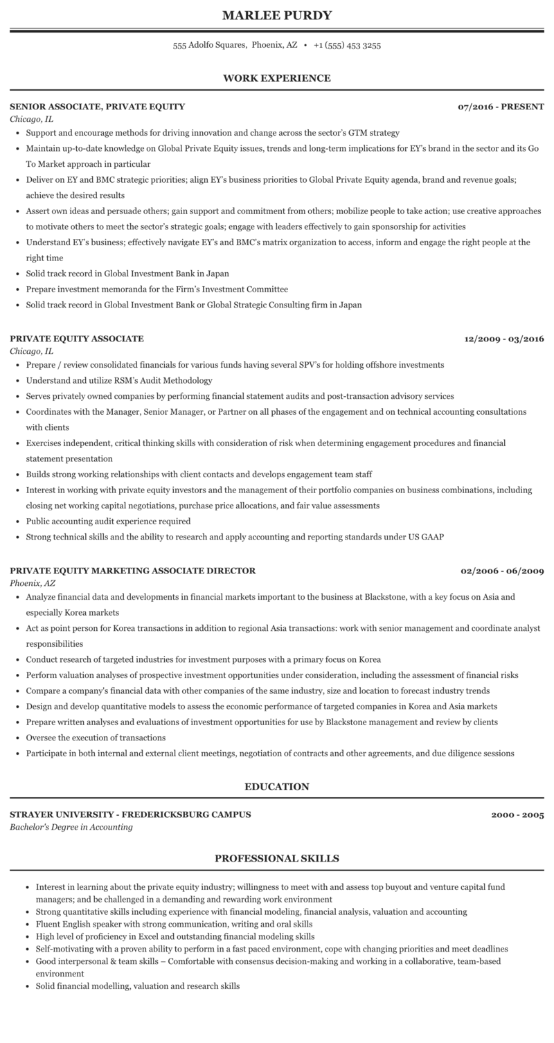 Consulting private equity resume essay on the abuse of children in my community