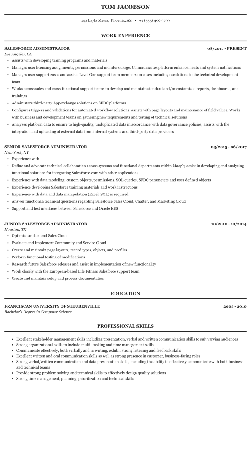 junior salesforce administrator jobs  office manager