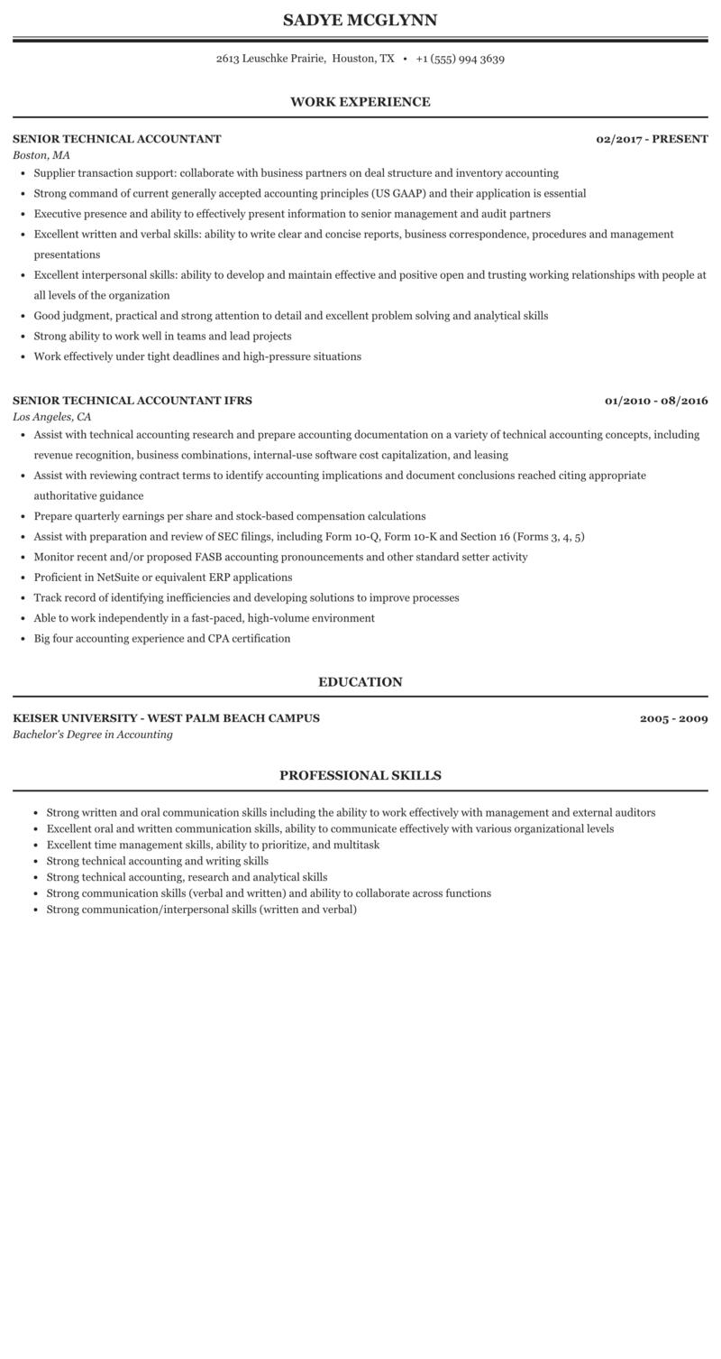 Technical skills in accounting resume custom article editing websites ca