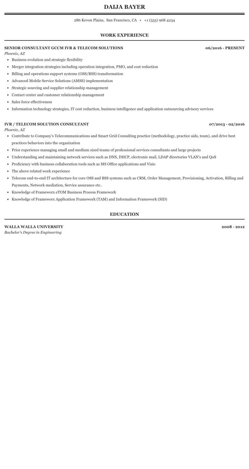 Oss consultant resume sample pre k teachers resume