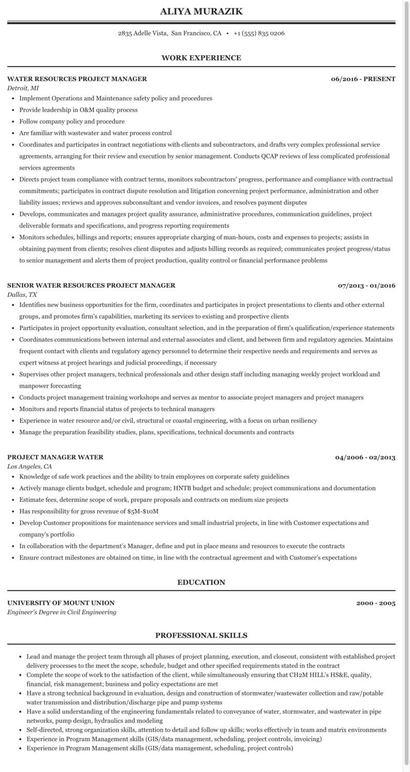 Pipeline project manager resume amy tan essay mother tongue